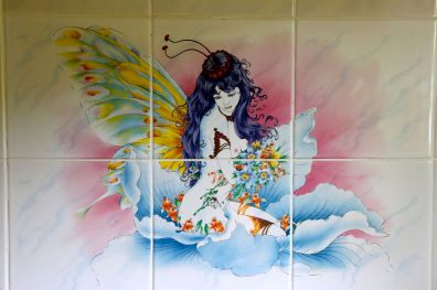 There are magical fairies with butterfly wings living in every bathroom of Serenity Residence.